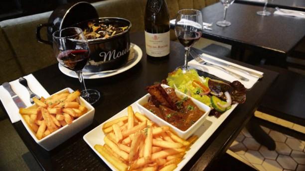 La Houblonnière Moules frites et Carbonnade Flamande
