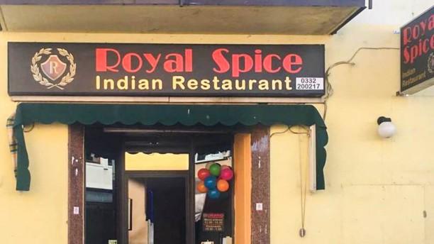 Royal Spice Indian restaurant Facciata del ristorante