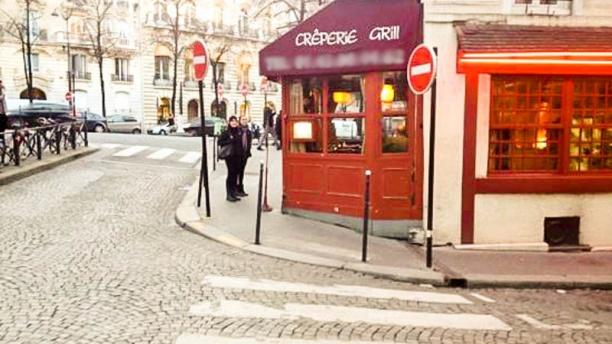 Restaurant a l 39 toile d 39 or paris arc de triomphe for Miroir restaurant paris menu
