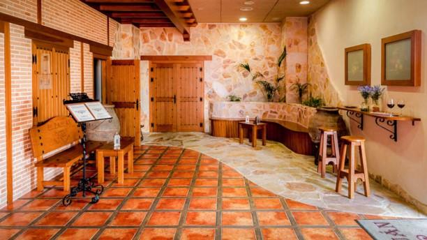 El Zaguán - Hotel Comendador ENTRADA RESTAURANTE