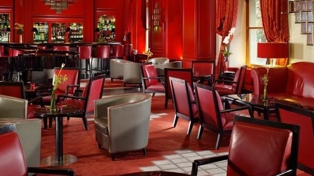 Hôtel Métropole Genève - le Mirror Bar Vue de la salle