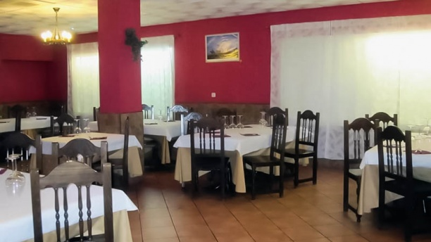 Nuevo Mundo Parrilla Argentina Vista sala