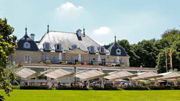La Brasserie du Parc des Eaux Vives Terrasse