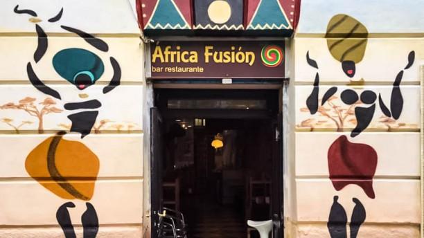 África Fusión Entrada