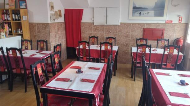 Indiano e Nepalés Restaurante Sala
