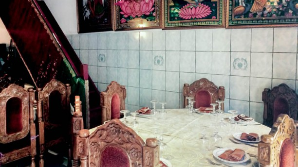 Sri Ganesh Vue de la salle