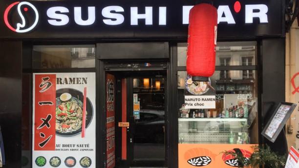 Sushi Bar Devanture
