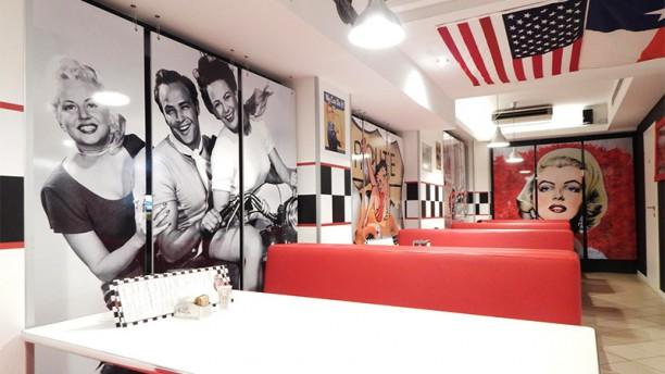 Mutty's Burger Vista della sala