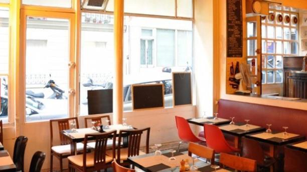 Café Burq Vue de l'intérieur