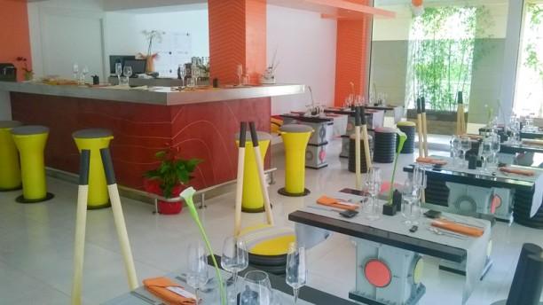 Shibumi Sushi Bar & Restaurant Vista de la sala