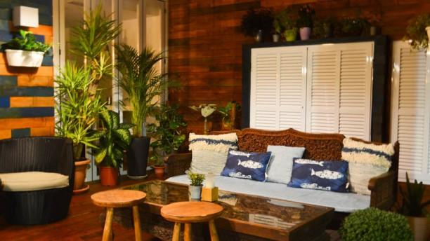 Calypso Restaurante Vista de la sala