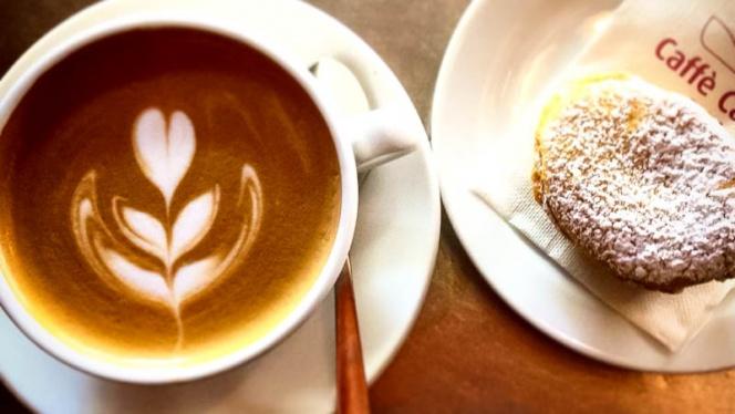 caffe con dolce - Caffé Cantú, Rome