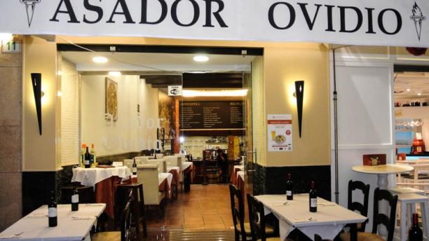 Asador Ovidio Vista entrada