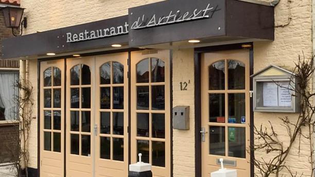 Restaurant D' Artiest Ingang