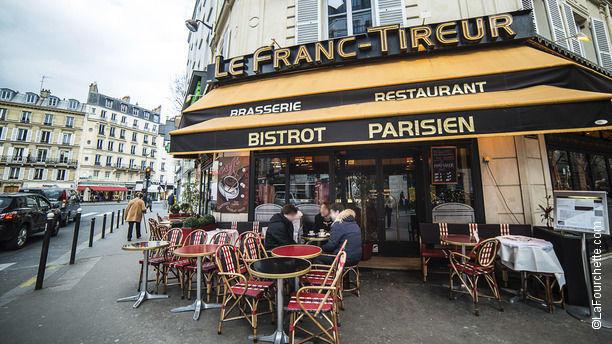 Restaurant le franc tireur paris arc de triomphe - Restaurant le congres paris porte maillot ...