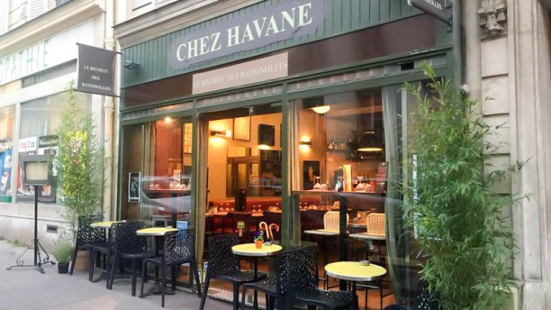 Chez Havane, le bistrot des Batignolles Entrée