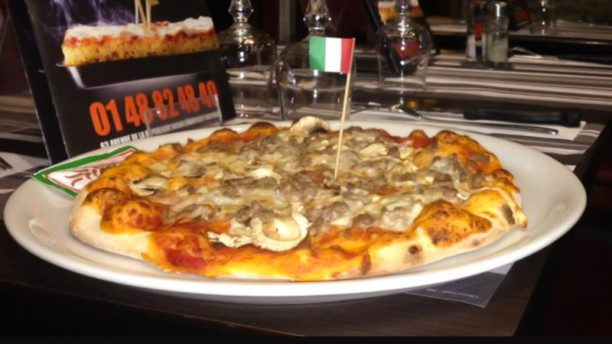 Rapido pizza Suggestion de plat