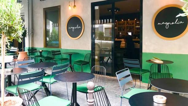 Magnolia Café Terrasse