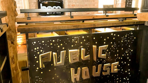 The Public House Vue de l'intérieur
