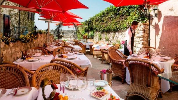 Le Saint Paul - Relais & Châteaux Terrasse du restaurant