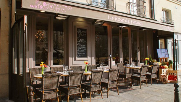 La Rose de France Bienvenue au restaurant La Rose de France