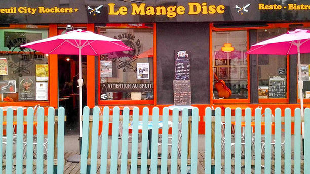 Le Mange Disc La terrasse
