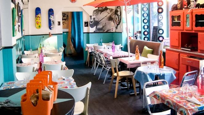 Le Mange Disc - Restaurant - Montreuil