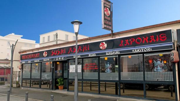 Sushi Asahi Façade du restaurant