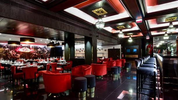 Maxime Restaurante Bar Vista da sala