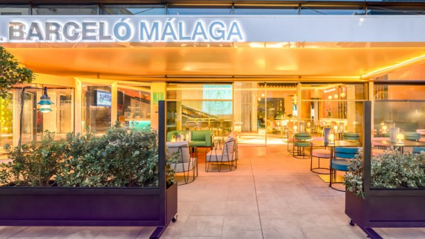Gastrobar La Santa María - Hotel Barceló Málaga Entrada