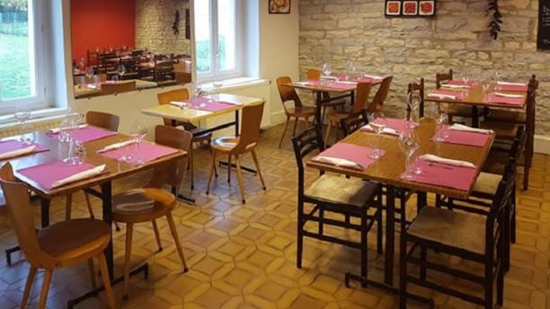 Café Restaurant du Centre Vue de la salle