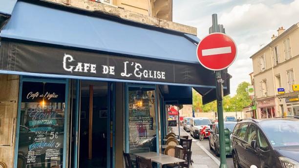 Café de l'église Entrée
