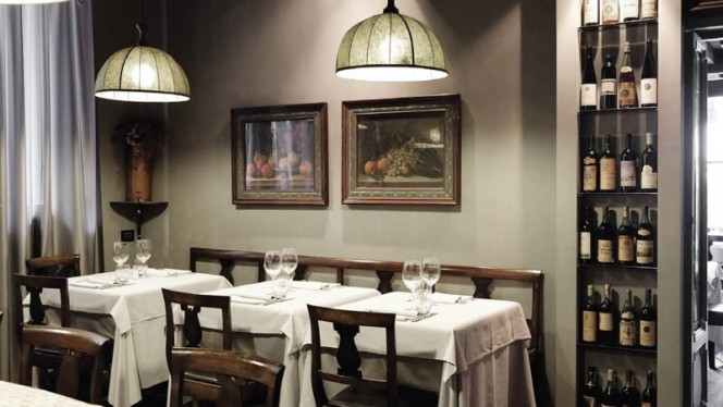 sala - Taverna della Trisa, Milan