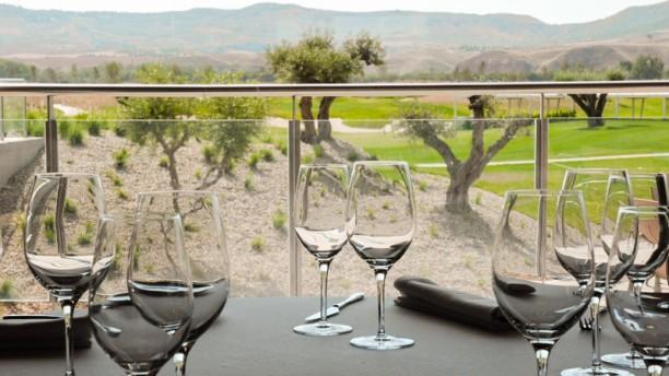 El Encín Golf Panorámica desde el restaurante