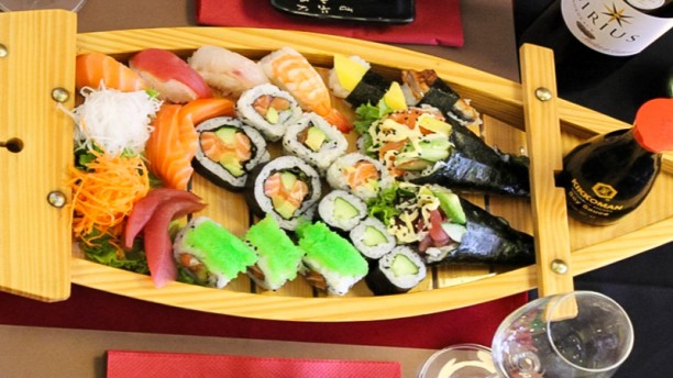 Sushi lounge in leuven restaurant reviews menu and for Aka japanese cuisine lounge