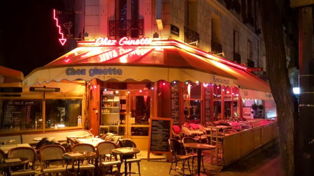 Chez Ginette de la Côte d'Azur vue extérieure