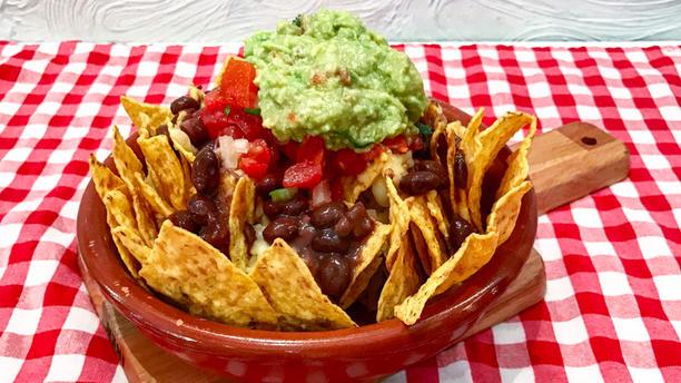 Distrito Vegano Nachos a la mexicana