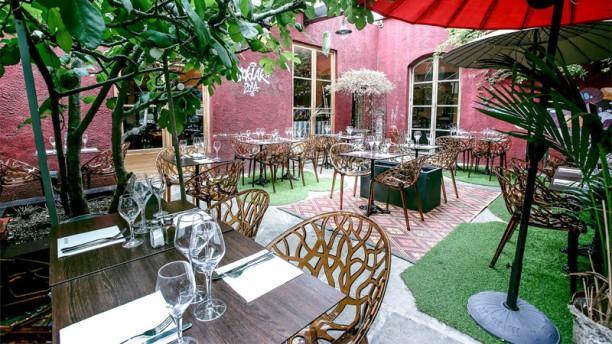 le jardin de montreuil restaurant 1 rue du sergent