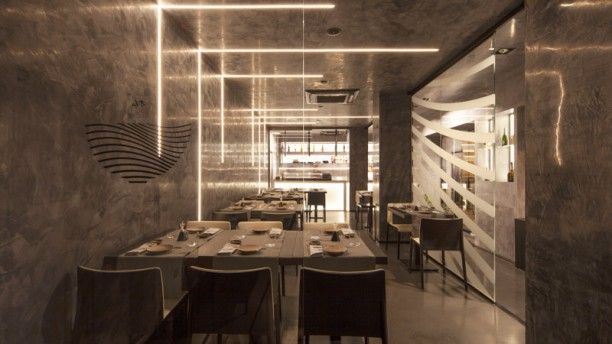 Omu Restaurant Veduta dell interno