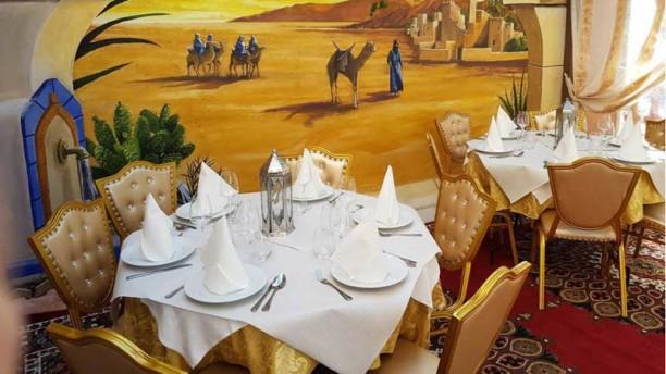 L'Auberge Du Maroc Vue de l'intérieur