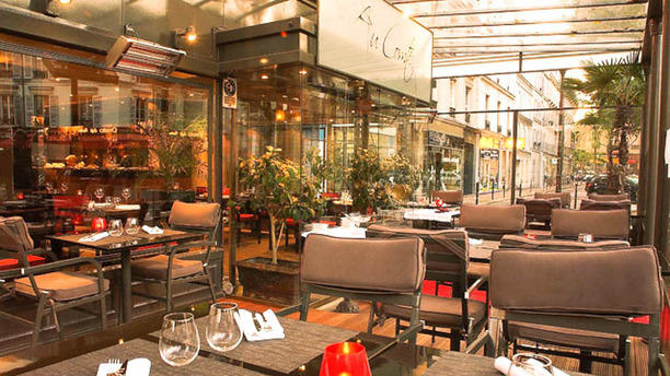 Restaurant Au Comte de Gascogne Vue extérieure terrasse