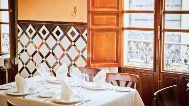 Vista mesa - El Bacalao - Tarifa, Sevilla