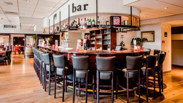 Bistro de la Ville (Hampshire Hotel) Het restaurant