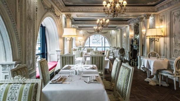 Café Pouchkine Paris Vue de la salle