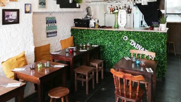 O Tainadas Restaurante & Bar Vista da sala