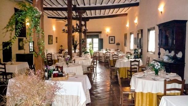 El Cenador de las Monjas Salón principal del Cenador de las Monjas