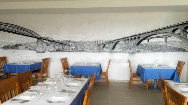 Restaurante Bago D ouro Vista do interior