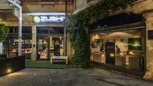 Zushi Japanese Restaurant Vista della sala