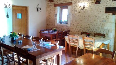 restaurant - Ferme Auberge de la Colline - Blis-et-Born