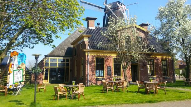 Abraham's Mosterdmakerij en Restaurant Ingang